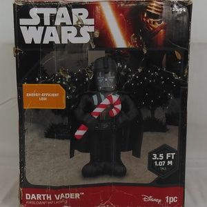 Star Wars Darth Vader with Candy Cane Christmas